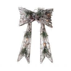 Snow Covered Medium Wood Bow