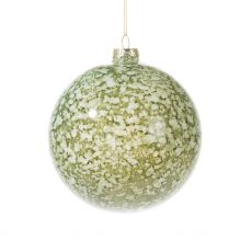 Soft Green Glass Bauble