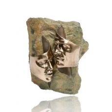 Genesis Tender Love Bronze Wall Plaque