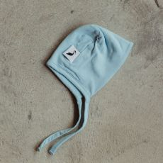 Stork & Co Blue Organic Cotton Bonnet 6-12 Months