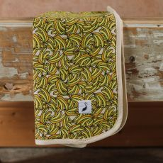 Stork & Co Banana Organic Cotton Blanket
