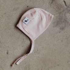 Stork & Co Pink Organic Cotton Bonnet 6-12 Months