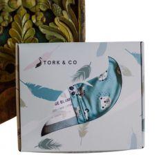 Stork & Co Animal Friends Sleepsuit & Bamboo Blanket Gift Set