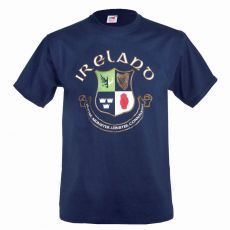 Navy Four Province Ireland T-Shirt