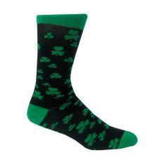 Guinness Black Shamrock Socks