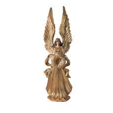 Tall Gold Angel Figurine
