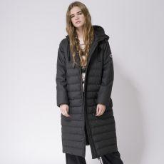 Tanta Rainwear Damla Black Long Puffer Jacket