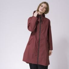 Tanta Rainwear Nuovola Burgundy Rain Jacket