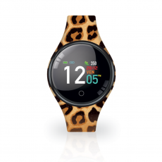 Techmade Freetime Leopard Print Smart Watch