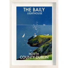 The Ireland Posters Store The Baily Lighthouse Frame