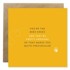 The Bees Knees Valentine Card