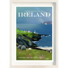 The Ireland Posters Store Cead Mile Failte Frame
