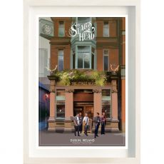The Ireland Posters Store Stags Head Frame