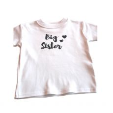 The Stork Box Big Sister T Shirt 1-2 Years