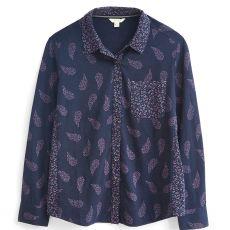 The White Stuff Renee Jersey Shirt Purple