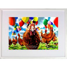 Eoin O' Connor The Hen Party Medium Frame