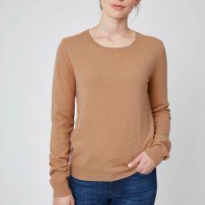 Theo & George Ella Cashmere Sweater Camel IMAGE 1