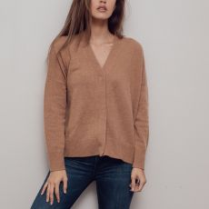 Theo & George Sienna Cashmere Sweater Camel