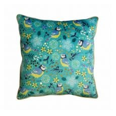 Tipperary Crystal Birdy Blue Tit Cushion