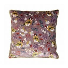 Tipperary Crystal Birdy Goldfinch Cushion