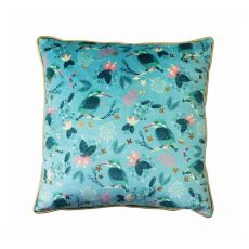 Tipperary Crystal Birdy Kingfisher Cushion
