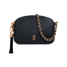 Tipperary Crystal Black Cannes Shoulder Bag