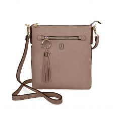 Tipperary Crystal Chelsea Grey Crossbody