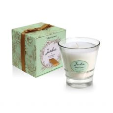 Tipperary Crystal Jardin Candle White Jasmine box and candle