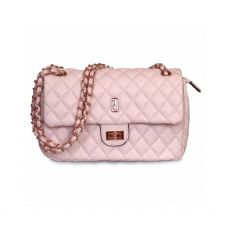 Tipperary Crystal Quilted Palermo Pink Shoulder Bag
