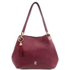 Tipperary Crystal Burgundy Sicily Shoulder Bag