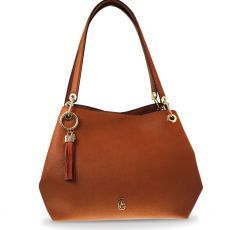 Tipperary Crystal Sicily Tan Shoulder Bag