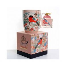 Tipperary Crystal Single Birdy Bullfinch Mug