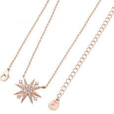 Tipperary Crystal Star Rose Gold Pendant