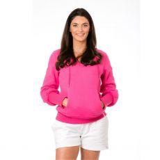 Trendy & Bendy Trikona Pink Hoodie
