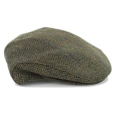 Mucros Weavers Trinity Wool Cap Dark Green