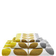 Orla Kiely Trio Stem Dune Towel
