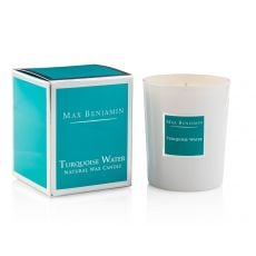Max Benjamin Turquoise Water Candle