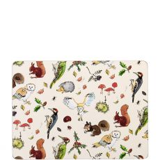 Ulster Weavers 4 Corked Placemat Woodland