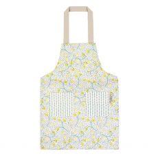 Ulster weavers child apron yellow