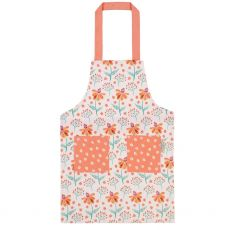 Ulster Weavers Childs Apron Orange Flowers