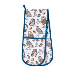 Ulster Weavers Owls Double Oven Glove
