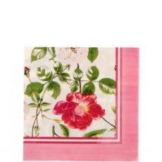 Ulster Weavers Paper Napkins Traditional Rose