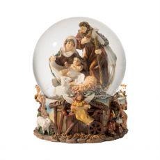 Large Nativity Snow Globe