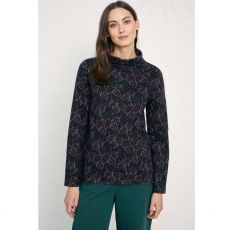Seasalt Watchful Top Bryans Cyclamen Dark Night