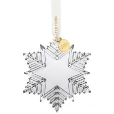 Christmas 21 Annual Snowcrystal Ornamnt Small