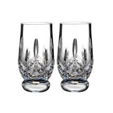 Waterford Connoisseur Lismore Tumbler Tasting 7oz Pair