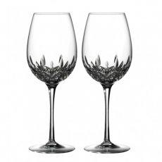Waterford Crystal Lismore Essence Red Wine/Goblet Pair
