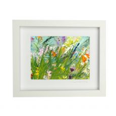 Vera Gaffney Rock of Doon Blooms - Framed