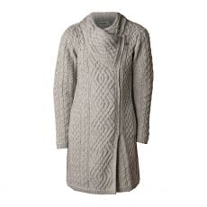 West End Knitwear Liffey Grey Cardigan