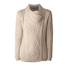 West End Knitwear Shannon Parsnip Cardigan